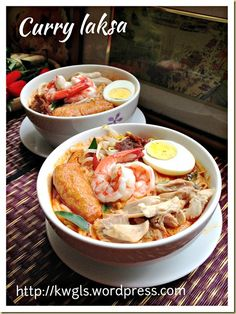 Another Hawker Centre Noodle Dish–Curry Laksa or Curry Mee (咖喱叻沙, 咖喱面)- Posted on May 19, 2014 by Kenneth Goh