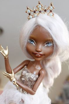 Ever After High Justine Dancer Princess Custom Repaint OOAK Monster High Doll #Mattel #DollswithClothingAccessories