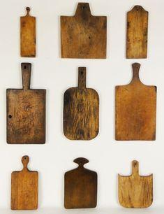Zyprezz: Lost Found Art : Vintage Cutting Boards