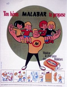 Pub Malabar années 70. #retro #pub #malabar #mangerbouger