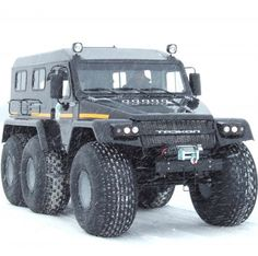 Meet the utterly unnecessary and batshit-fabulous Trecol 39294 6x6. You can keep your Hummer. We want one of these. Designed for use by the Russian...
