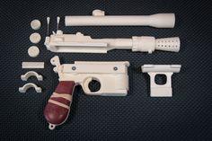 Doopydoos DL-44 Review – Han Solo Blaster Resin Kit - Prop Up Shop
