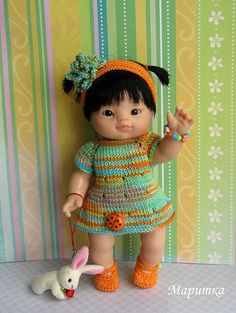 Doll Clothes Patterns, Clothing Patterns, Crochet Doll Pattern, Baby Born, Doll Accessories, Vintage Dolls, Crochet Baby, Baby Dolls, Bears