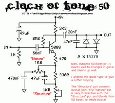 Church Of Tone - COT 50 Lovepedal COT50 Diy Guitar Amp, Diy Guitar Pedal, Guitar Pedals, Electronics Basics, Electronic Schematics, Electronic Shop, Electrical Projects, Shop Layout, Pedalboard