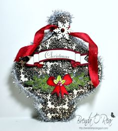Christmas Ornament by Benzi - Cards and Paper Crafts at Splitcoaststampers