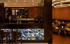 Jumeirah Emirates Towers Hotel - Dubai Restaurants - The Agency - Wine Bar
