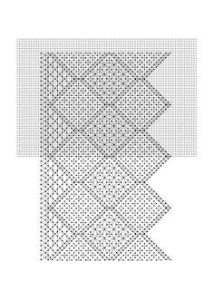 Puntilla geométrica, diversos puntos