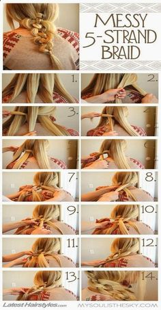 Easy Hairstyles for Long Hair .