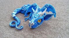 Moonlight+Baby+Dragon+by+MakoslaCreations+on+Etsy,+$60.00