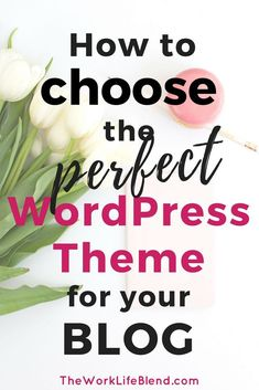 This is a step by step tutorial on how to download a free WordPress Theme template. Also includes tips on how to choose the perfect WordPress theme for your blog or business website. #WordPresstips #Startablog #WordPressthemes