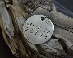 No.20 // Custom Dog Tag // Metal Pet Tag // ID Tag