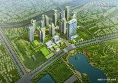 Phối cảnh dự án 136 Hồ Tùng Mậu