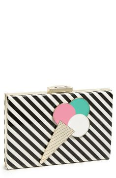 Yummy! Ice-cream clutch by Kate Spade