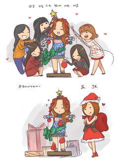Bomi Christmas Tree :'> #Apink @bowoomi