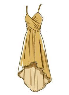 Dress Design Drawing, Dress Design Sketches, Fashion Design Sketchbook, Dress Drawing, Fashion Design Drawings, Fashion Sketches, Fashion Drawing Dresses, Fashion Illustration Dresses, Fashion Illustrations