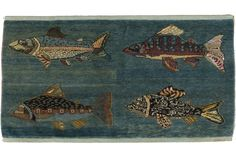 Carpet Catalog: Fish and Folk Carpets | The Book of Woven Legends