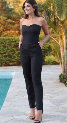 jumpsuits-for-women - Womens Fashion 1 Casual Chic, Casual Wear, Casual Outfits, Cute Outfits, Sweater Outfits, Dress Outfits, Look Fashion, Womens Fashion, Fashion Beauty