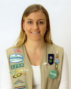 """#GirlScout Rebecca -""""Nature in Your Own Backyard,"""" was Rebecca's Gold Award project. Rebecca painted murals of habitats on Long Island at the Tackapausha Museum and Preserve. She used her talent as an artist to help educate young people about the environment. #goldaward #gsnc"""