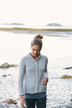 Ravelry: Arctic Cardigan wzór Carrie Bostickiem Hoge