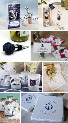prezenty dla gości - marynistyczne wesele