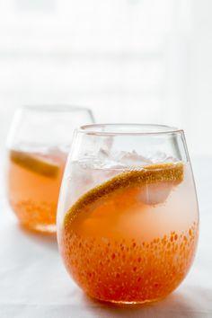 grapefruit mimosa + video - Jelly Toast