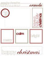 Kaitlin Sheaffer : December Daily: day one plus a December Daily printable