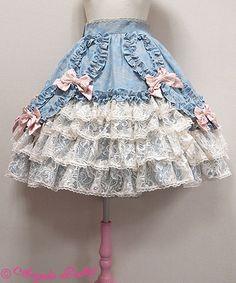 Angelic Pretty - Pompadour skirt