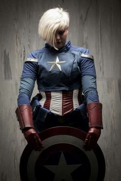 15 Awesome Woman's Captain America Cosplay - Smashcave