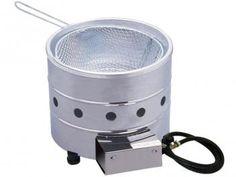 Tacho para Frituras 3L Aço Inox Progás PR 310G - c/ Cesto Removível e Registro de Estágio Contínuo