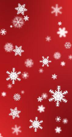 Festive Snowflakes Gradient Wallpaper on Behance - download at www.danielmartyn.co.uk