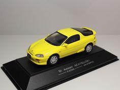 SAPI MODELS AUTOZAM AZ-3 1991 YELLOW E-EC5SA MAZDA MX-3 EUNOS 30X PRESSO 1/43 #SAPIMODELS #MazdaAutozamEunos