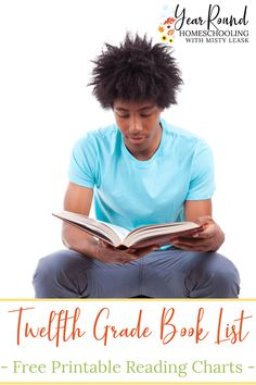 Help your high school senior finish strong with a Twelfth Grade Book List that they'll enjoy and remember for years to come. #HighSchoolLiterature #HighSchoolLit #HighSchoolBookList #BookList #HighSchool #Homeschool #Homeschooling #YearRoundHomeschooling