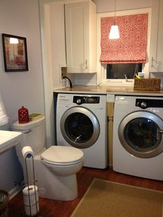 "Obtain fantastic suggestions on ""laundry room stackable small"". They are availab. Obtain fantastic suggestions on ""laundry room stackable small"". Laundry Room Wall Decor, Laundry Room Remodel, Laundry Room Bathroom, Basement Laundry, Laundry Room Signs, Small Laundry Rooms, Laundry Room Organization, Downstairs Bathroom, Bathroom Ideas"