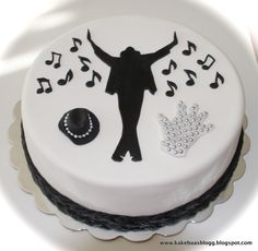Happy Birthday Mj Cakes Michael Jackson Cake Michael