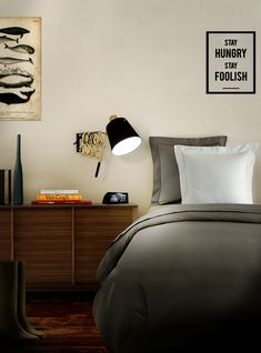 The Ultimate Guide To Lighting Your Bedroom   When deciding on your bedside lightingflexibilitycan be key. Wall lights on arms provide greater versatility for reading/writing in bed as they can bepositionalwhether you're sitting or lying down. #lightingdesign #bedroom #lightinginspo #lighting #interiordesign #bedroomlighting #homedecor #interiors #walllights