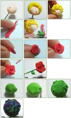 Cake Topper Tutorial, Fondant Tutorial, Cake Toppers, The Little Prince Theme, Little Prince Party, Polymer Clay Crafts, Diy Clay, Decors Pate A Sucre, Prince Cake