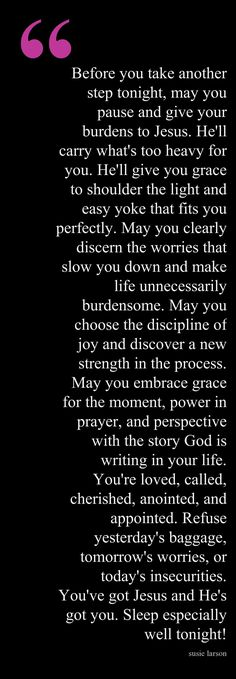 Evening Blessing