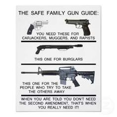 People forget, 2nd Amendment is also there to protect us from our own government...