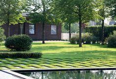 Минималистический сад в Подмосковье