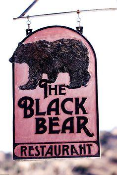The Black Bear at Indian Lodge, Davis Mountains State Park, Fort Davis, Texas| by Dan Pancamo