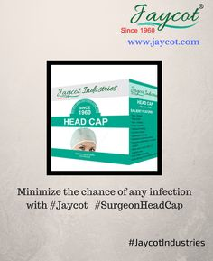 #Jaycot #SurgeonHeadCap of supreme #quality helps in protecting your #health from chances of any #infections.  Buy online @ http://jaycot.com/health-care