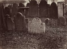 "ca. 1864-69, ""Burial Ground, Wesleyan, Middletown, CT"", George Kendall Warren via the Museum of Fine Art in Boston, Photographs ..."