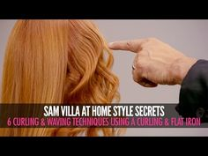 Discover how to curl you hair 6 different ways, using a curling iron and a flat iron. Waves, spiral curls and ribbon curls, and match more! Hair Curling Techniques, Hair Curling Tools, Curl Hair With Straightener, Curling Iron, Ribbon Curls, Styling Brush, Styling Tips, Different Types Of Curls, Barrel Curls