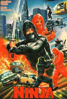 Ninja - 80s VHS Cover