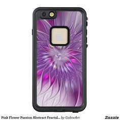 Pink Flower Passion Abstract Fractal Art LifeProof® FRĒ® iPhone 6/6s Plus Case