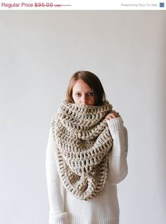 PREFALL SALE The Alaskan Extra Large Huge Chunky by ozetta on Etsy
