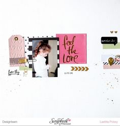 Feel the love by Laetitia Poissy at @studio_calico