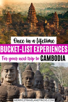 Traveling Cambodia soon? Here are the top 5 experiences in the country that you must experience. From Siem Reap to Phnom Penh and all the lesser known hidden gems, this guide will inspire you to really explore the Cambodian Country. Angkor Wat Cambodia | Siem Reap Cambodia | Phnom Penh Cambodia | Traveling Cambodia | Cambodia Travel | Cambodia | Siem Reap | Koh Rong | Koh Rong Sanloem | Asia Travel | Asia | Places to Visit in Cambodia Luang Prabang, Laos, Bali Travel, Travel Abroad, Japanese Travel, Cambodia Travel, Backpacking Asia, Travel Reviews, Travel Guides
