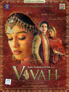 Vivah- Directed by Sooraj R. Barjatya. I love every single song in this movie...sometimes we need sweetness in our lives.