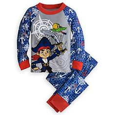 Disney Captain Jake and Skully PJ PALS for Boys | Disney StoreCaptain Jake and Skully PJ PALS for Boys - Heroes-to-be set sail for daring adventures in dreamland wearing Captain Jake's cozy pajama set made from comfy 100% cotton.